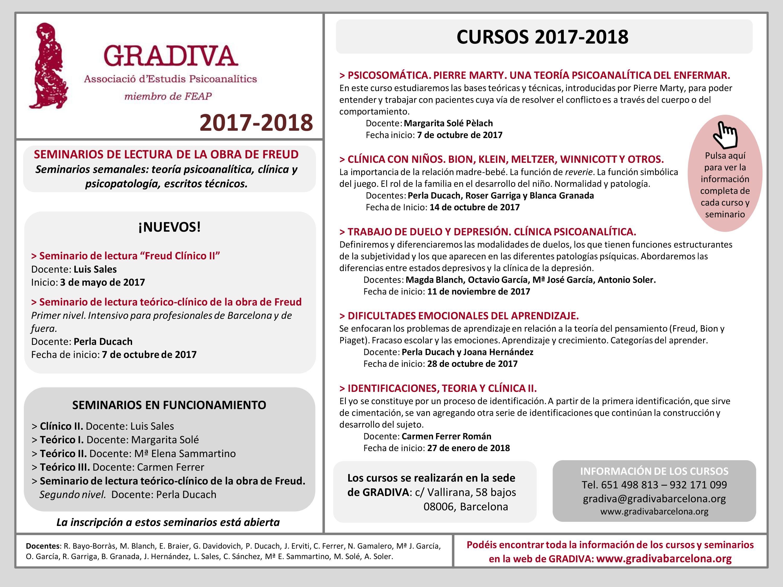 Cursos 2017-2018